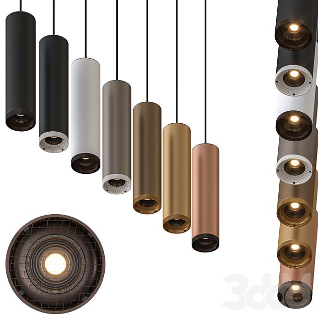 Olev Beam Stick 60 Pendant Lamp by Marc Sadler Pack 2