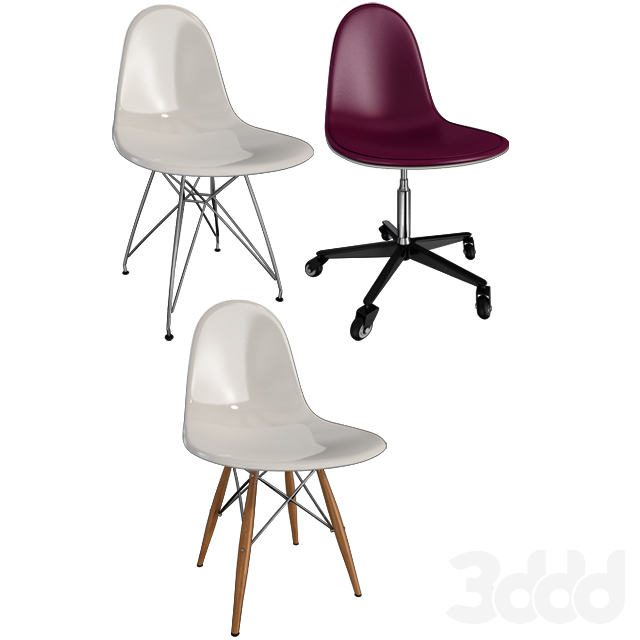Стулья Eames / Chairs Eames (Часть II)