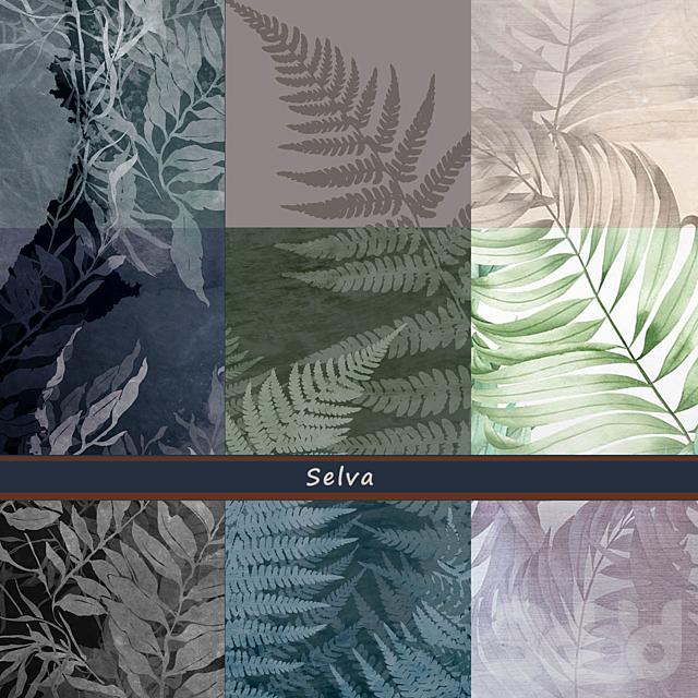 Дизайнерские обои Selva pack2