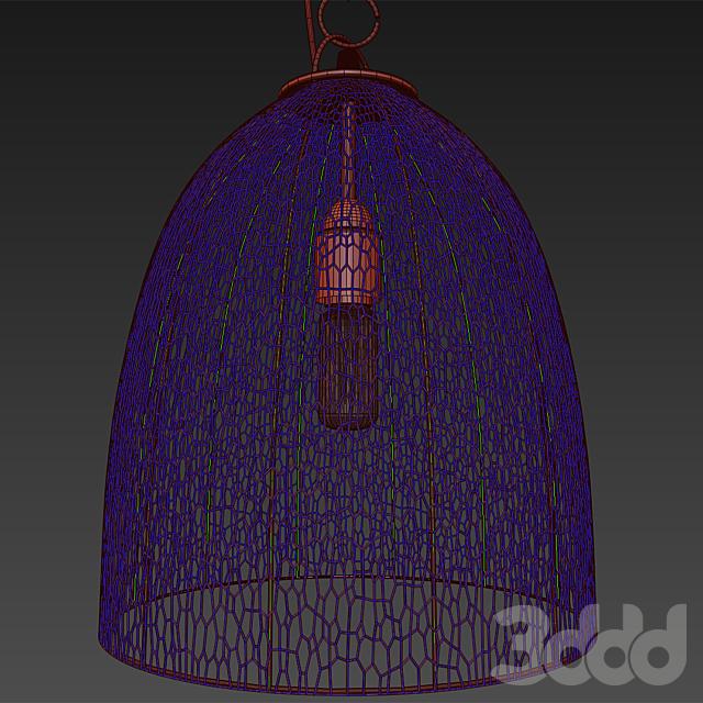 Люстра Comptoir de Famille 153420 Suspension Lampe Mamina Blanc