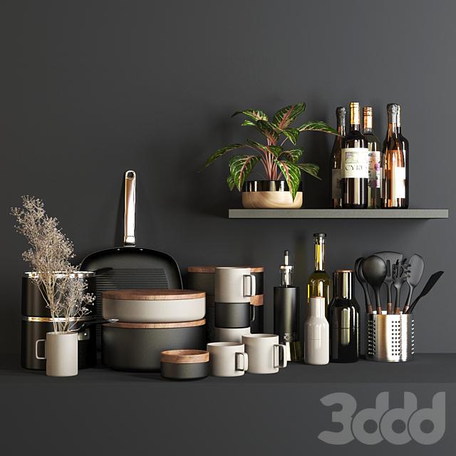 set1133- kitchen black4