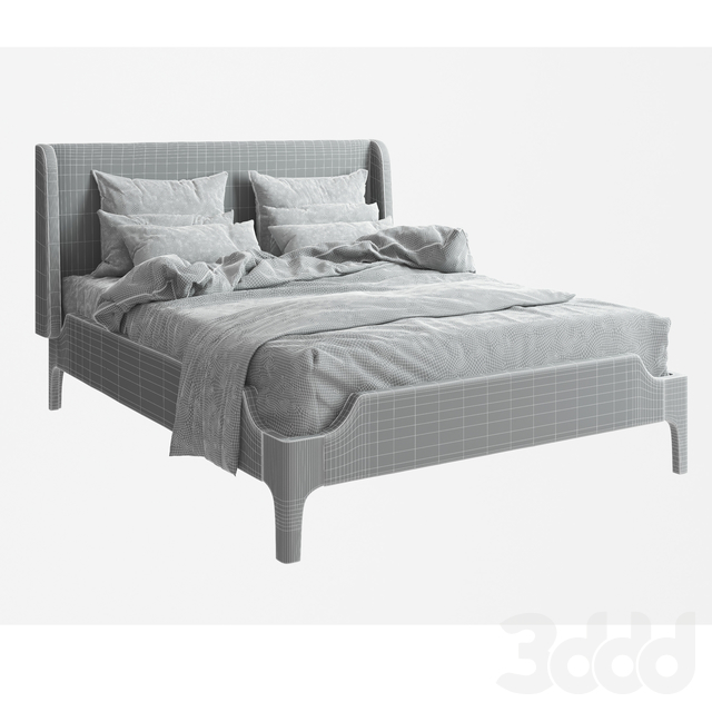 Bed Milan by Woodsoft
