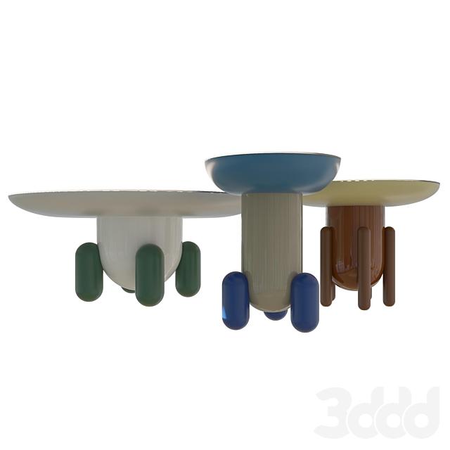Столы Explorer Tables от BD Barcelona