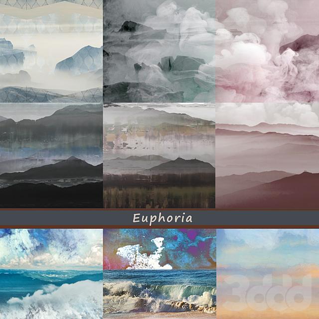 Дизайнерские обои Euphoria