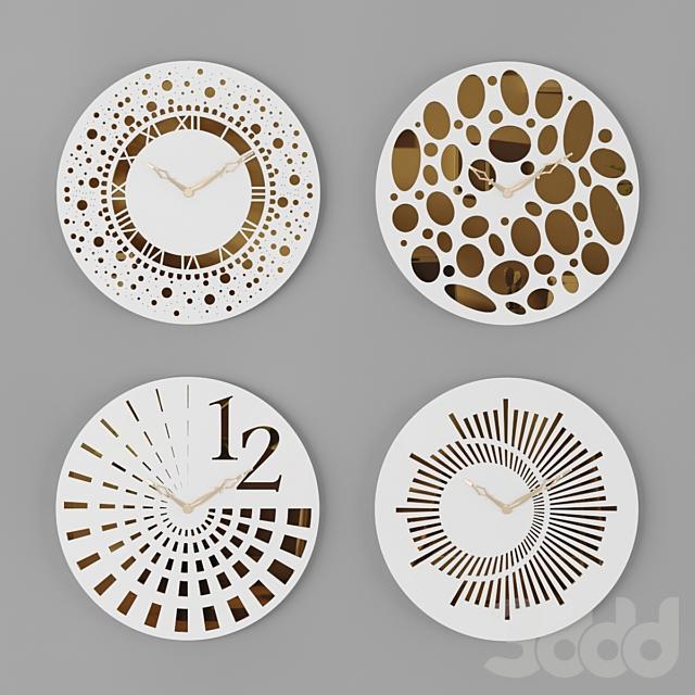 Wall Clocks Set 02