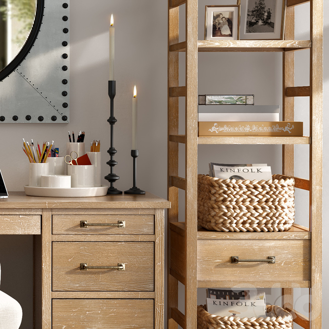 Pottery barn PARKER HOME OFFICE FURNITURE COLLECTION