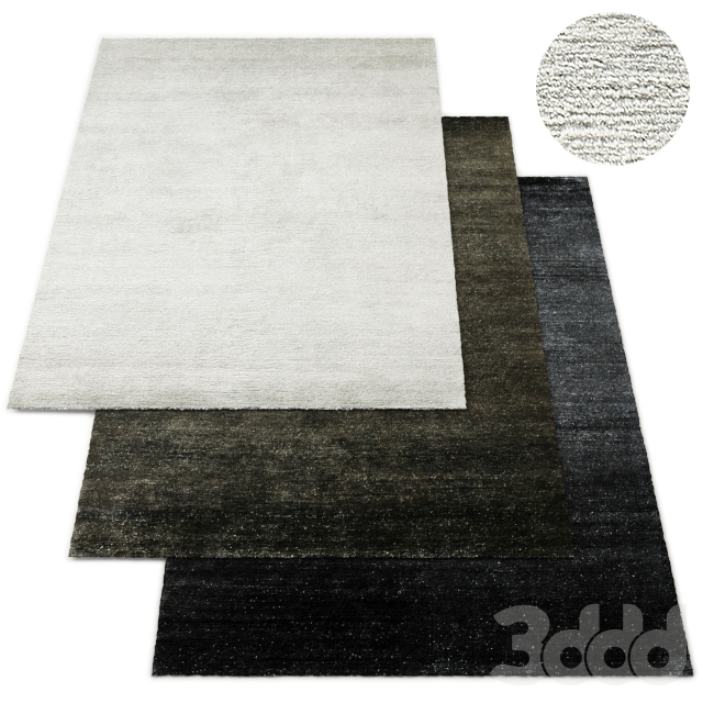 Khatan Hand-Knotted Mongolian Cashmere Rug RH Collection