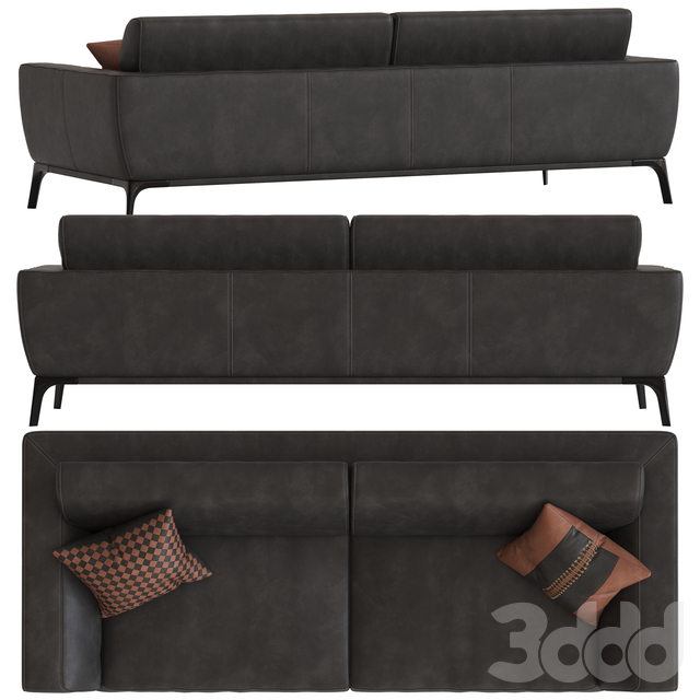 Roche Bobois Accord 3-Seater Sofa