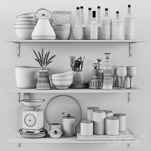 Kitchen Decorative set 055