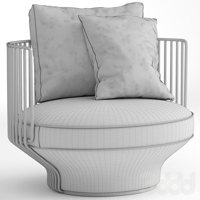 Wittmann Paradise Bird lounge chair