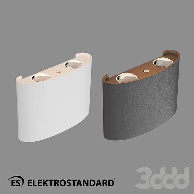 ОМ Уличный настенный светодиодный светильник Elektrostandard 1555 TECHNO LED