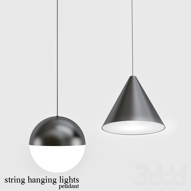 string_hanging_light pendant