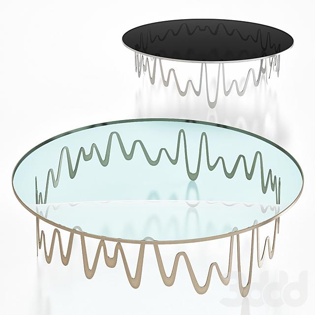 Sicis ONDINE COFFEE TABLE BY ALIDA CAPPELLINI & GIOVANNI LICHERI