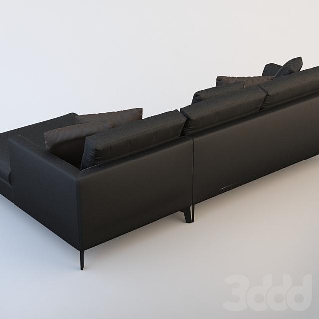 угловой диван Meridiani lewis up