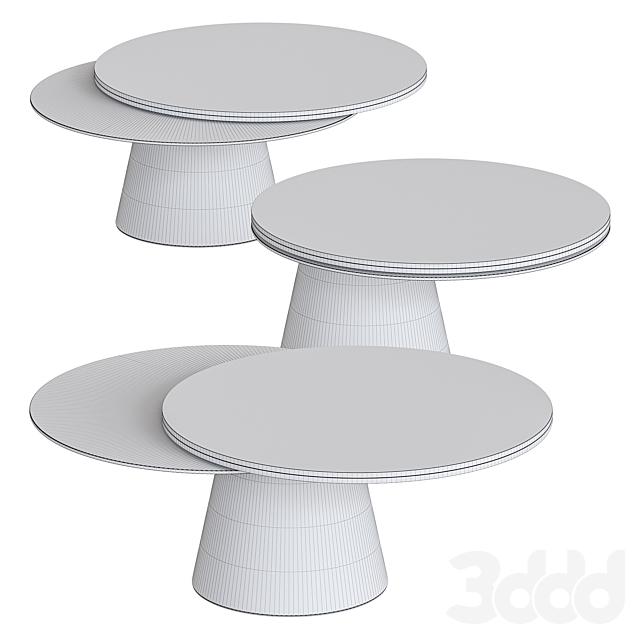 Girotondo Tables by Naos