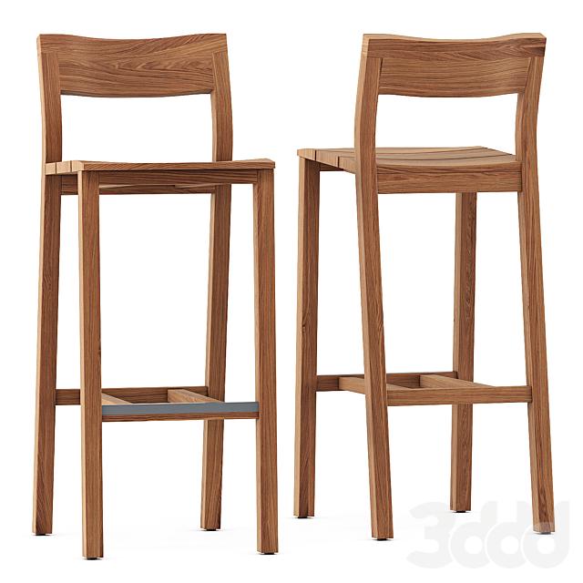 KOS bar chair by Tribu