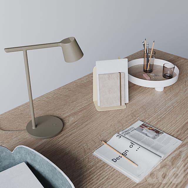 """Письменный стол """"70/70 Table"""" от Muuto"""