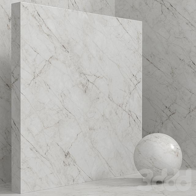 Материал (бесшовный) - камень, мрамор - set 128