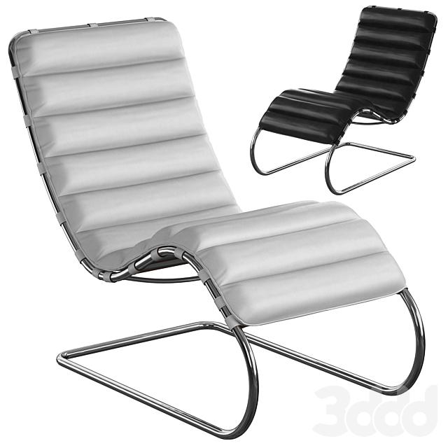 Knoll Mr Lounge, Chaise Longue