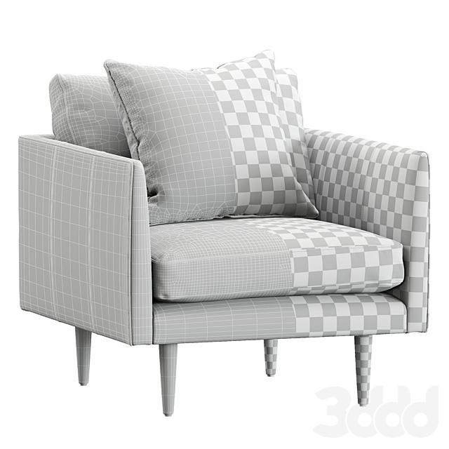 Burrard Bella Tan Chair