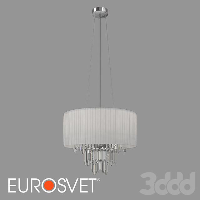 ОМ Подвесная люстра с хрусталем Eurosvet 10106/6 Amantea