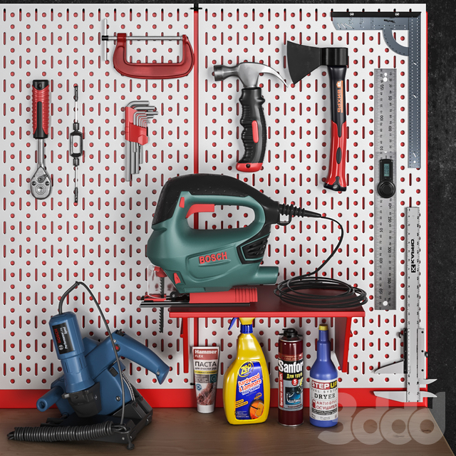 garage tools set 7