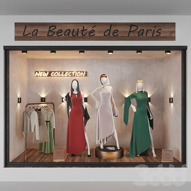 Dress shop front