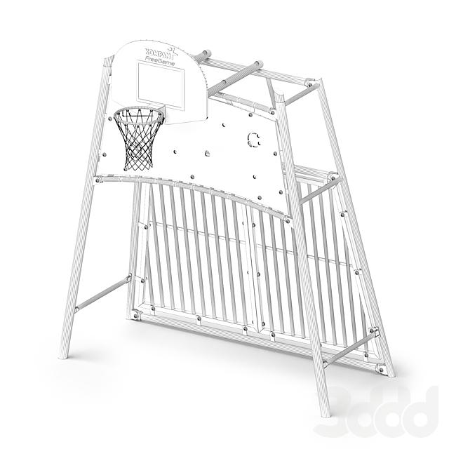Kompan Космос Комлекс для игр с мячом 3m