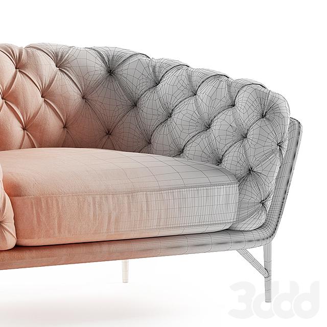 Calia Italia armchair art nouveau