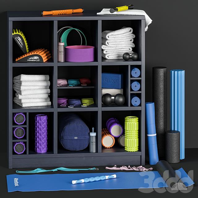 Cпортивный набор для йоги и фитнеса