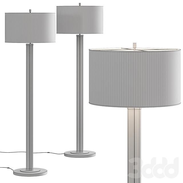 Crate & Barrel Gleam Crystal Shade Floor Lamp