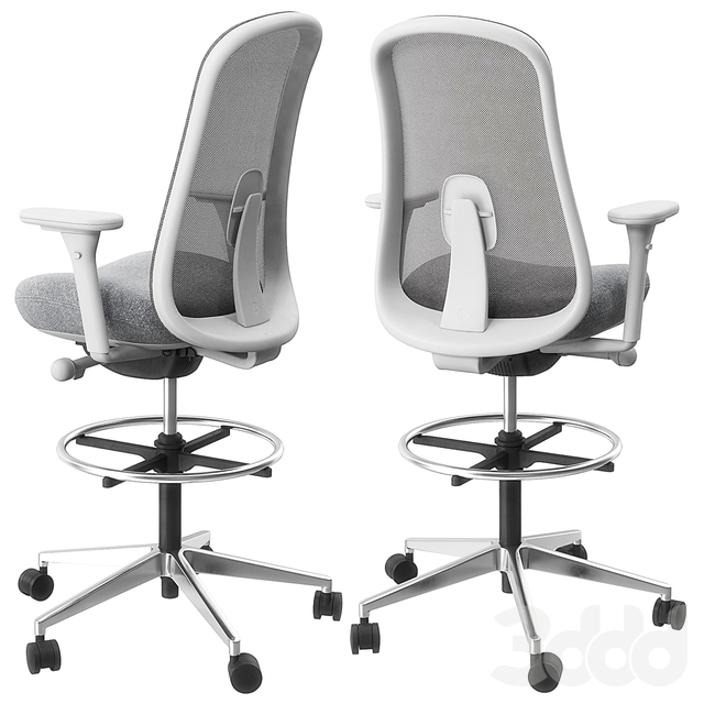 Lino chair and stool by Herman Miller
