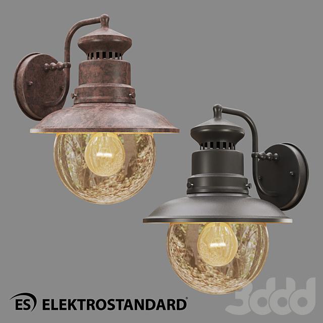 ОМ Уличный настенный светильник Elektrostandard GL 3002D Talli D