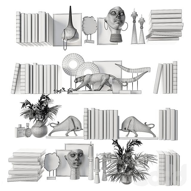 Декоративный набор для наполнения полок 8