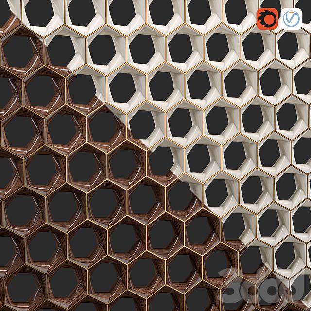 Zaha hadid hexagon