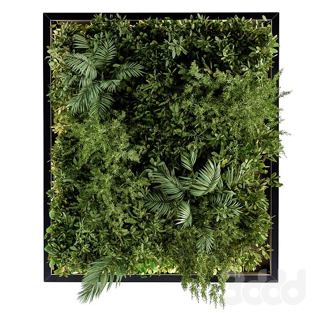 Vertical Garden Metal Frame - Wall Decor