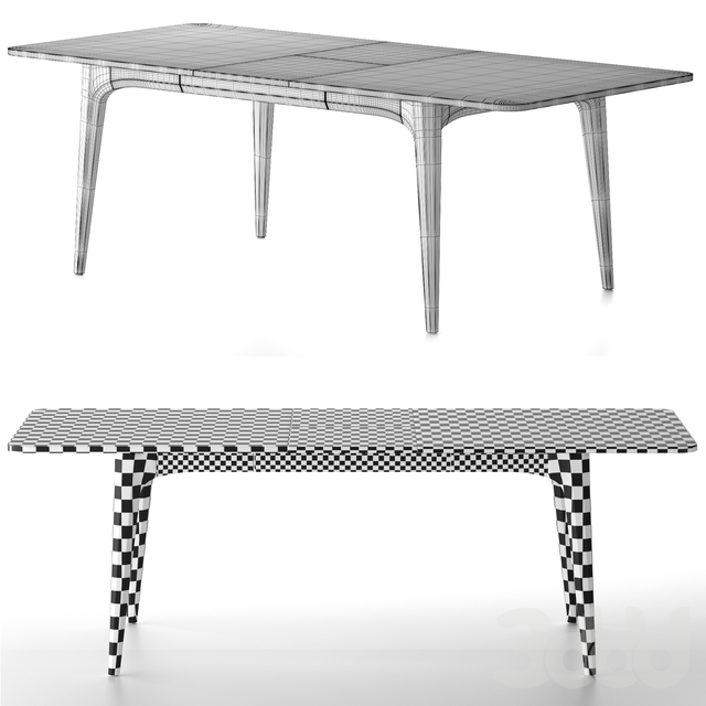 District Eight - Salk Expanding Dining Table