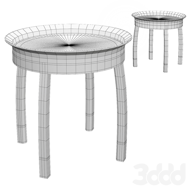Contemporary side table_2