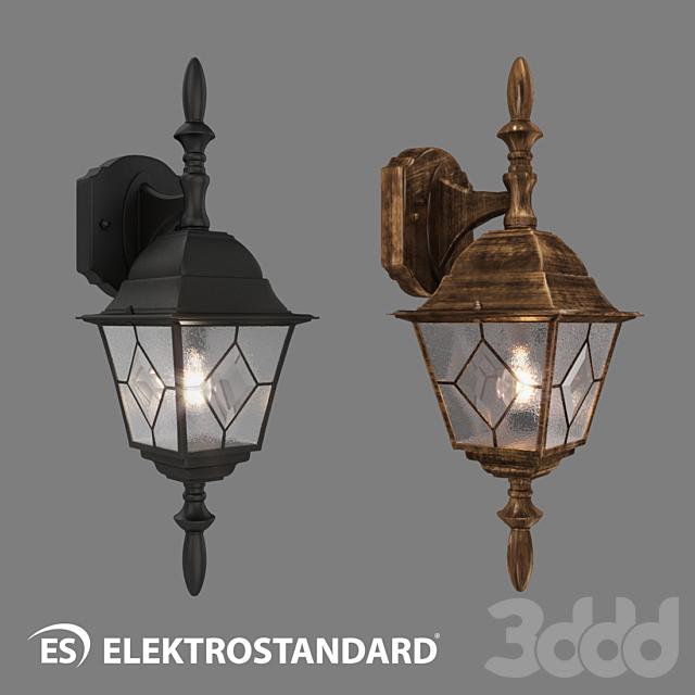 ОМ Уличный настенный светильник Elektrostandard Vega D