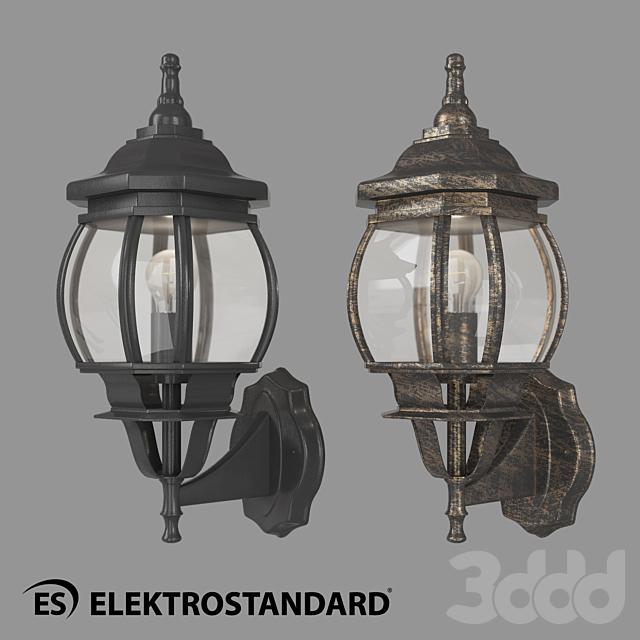 ОМ Уличный настенный светильник Elektrostandard GL 1001U
