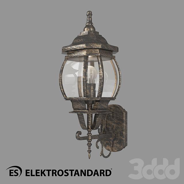 ОМ Уличный настенный светильник Elektrostandard GL 1011U