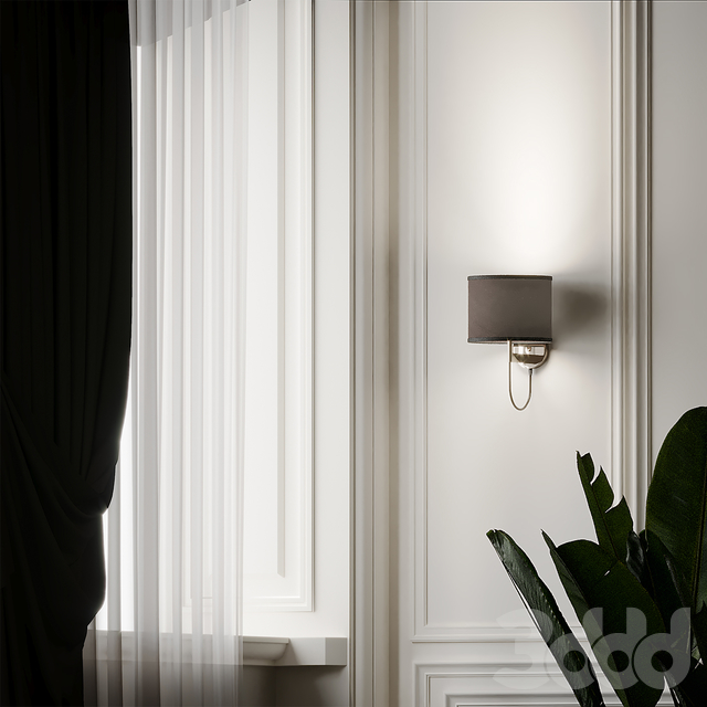 Lily Gold Cylindrical Shade Wall Sconce