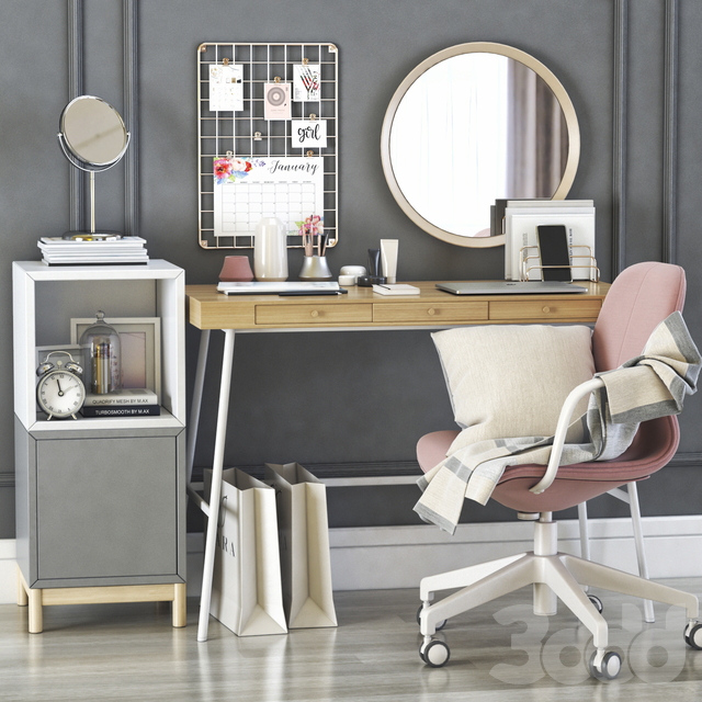 ikea lillasen dressing table and workplace