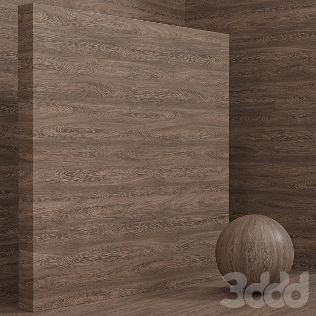 Материал дерево / дуб (бесшовный) - set 90
