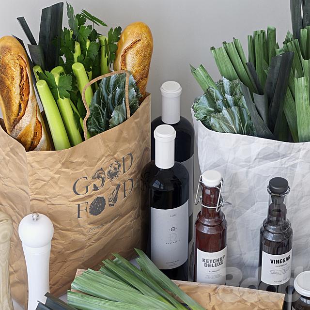 Пакеты с продуктами 2