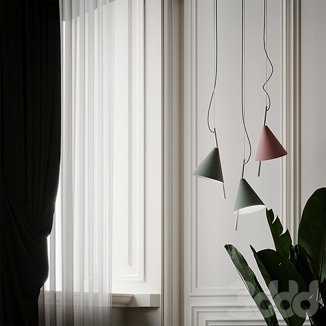 Nordic Modern Minimalist Foyer Pendant