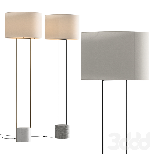 West Elm Industrial Outline Floor Lamp