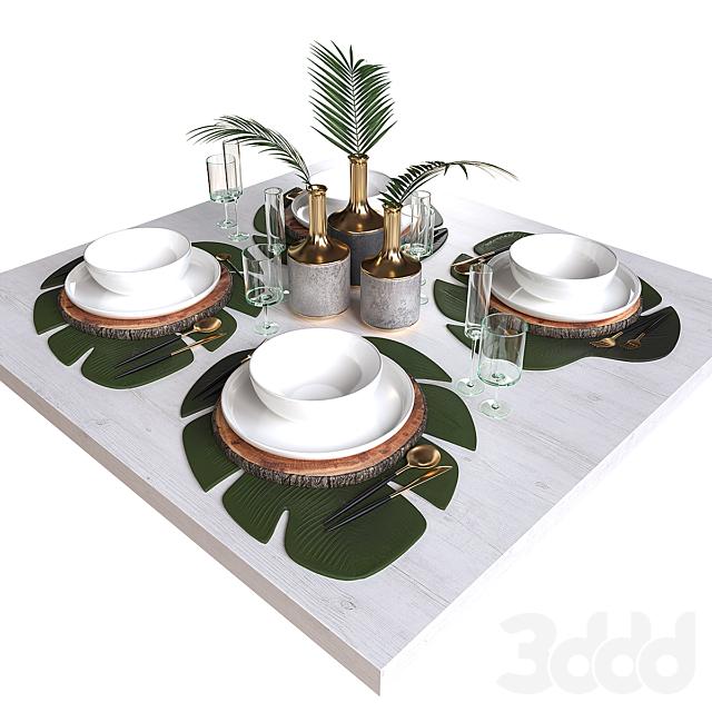 Сервировка стола 2