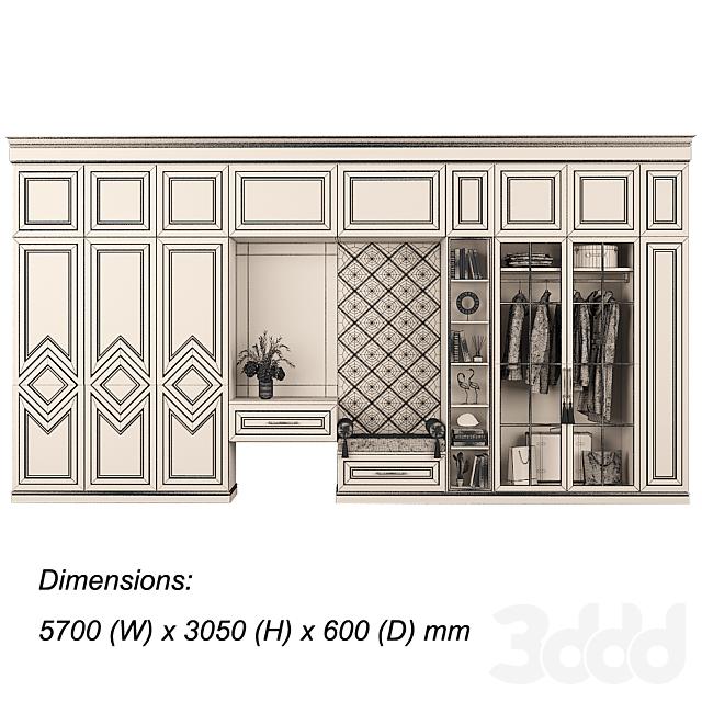 Мебельная композиция 94 часть 3