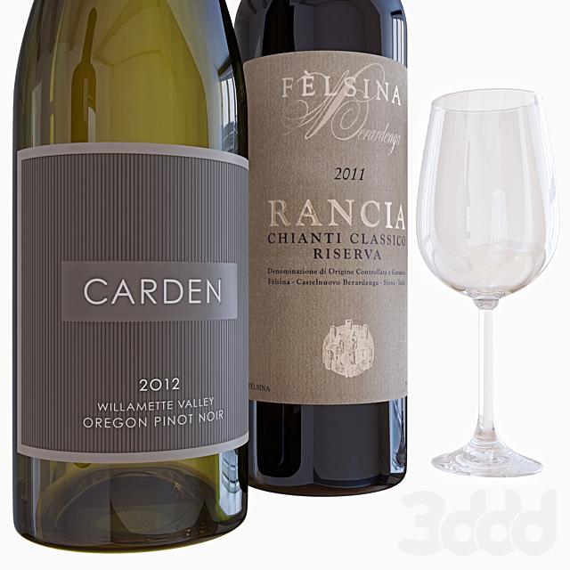 wine bottle set 7